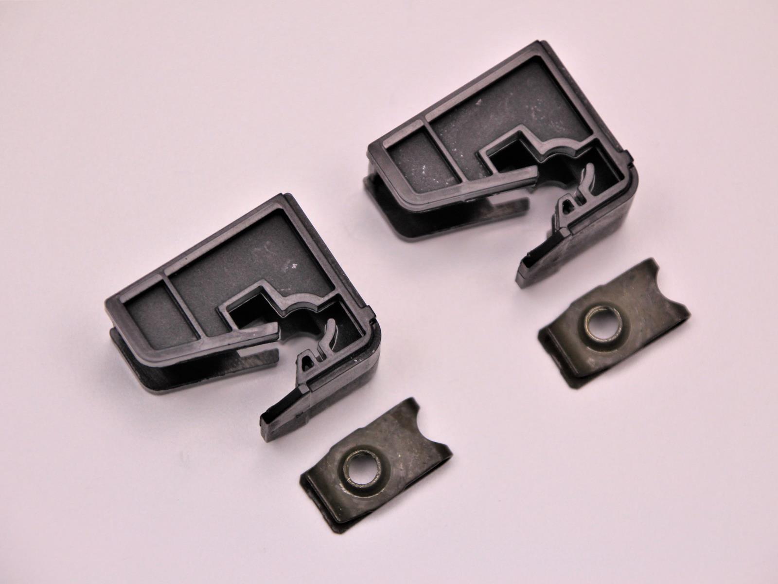2x Halter Scheinwerfer Halterung Clip Klammer für VW POLO R6 2009