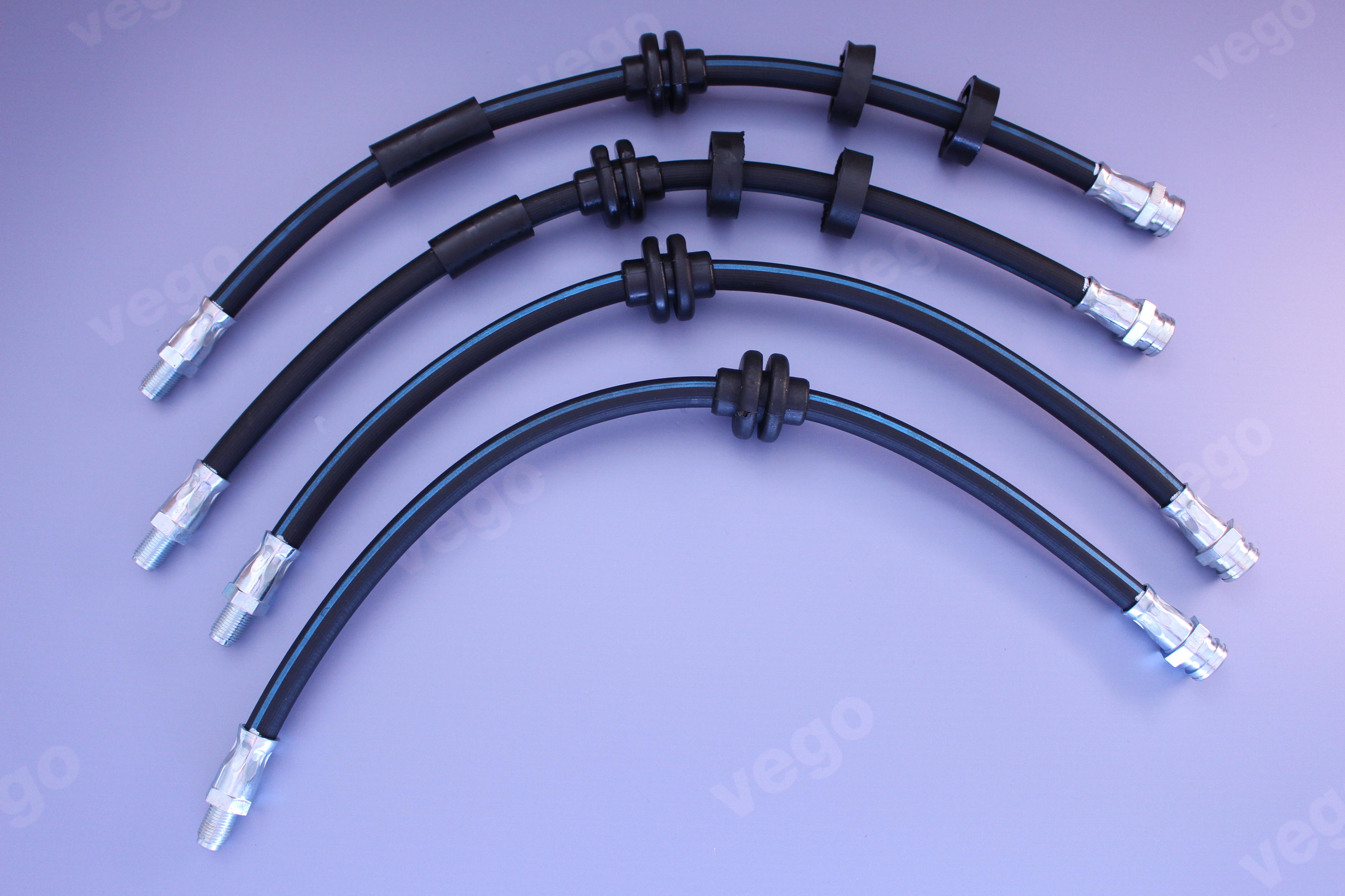 2x Bremsschlauch Bremsleitung Bremsschl/äuche 250 mm hinten,