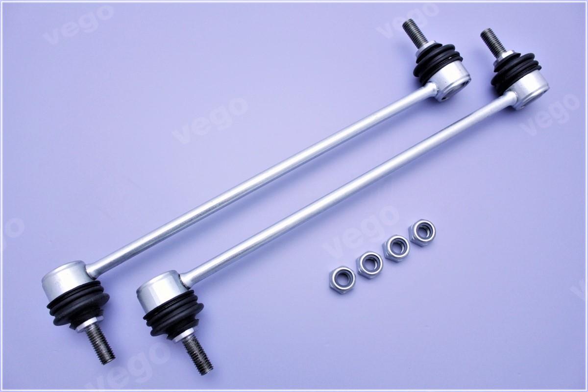 2x Koppelstange Stabistrebe Pendelstütze verstärkt vorne für Volvo S60 S80 V70