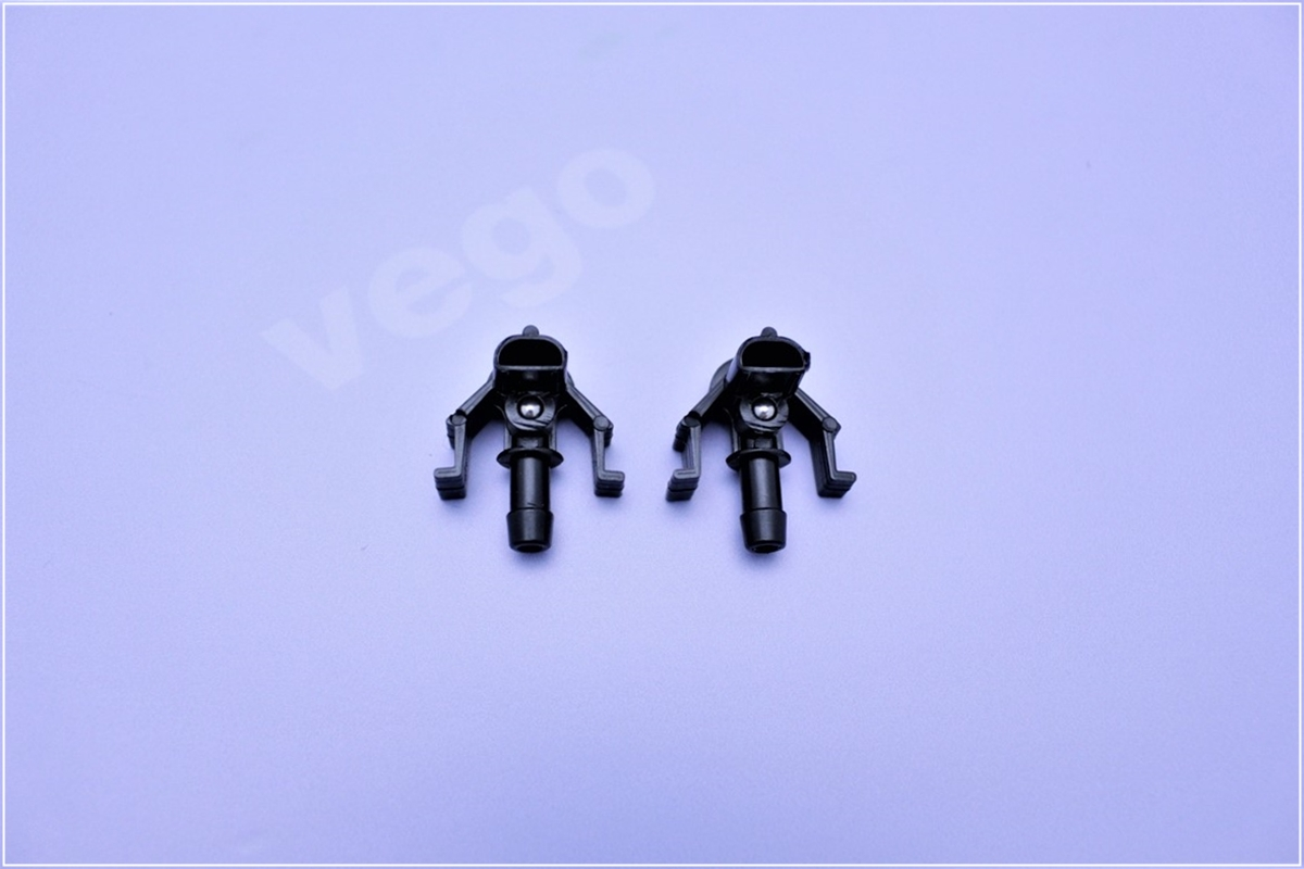 2x Genuine Vego Washer Nozzle Windscreen Cleaning Spray