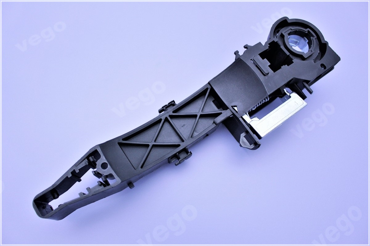 Set Pair LH+RH REAR Outer Sliding Door Handle Black Toyota Tarago ACR30 00~061